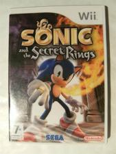 Sonic And The Secret Rings (Nintendo Wii - EX+)