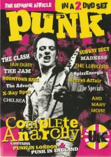 Punk Complete Anarchy UK DVD (Dobbel) The Clash Chelsea