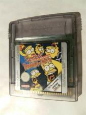 The Simpsons: Night of the Living (Gameboy Color)