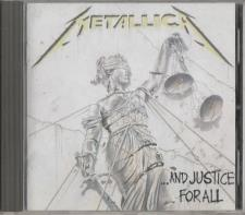 Metallica - ... And Justice For All CD 1988