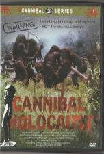 Cannibal Holocaust DVD Norsk cover, norsk tekst